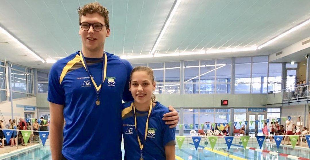 KNZB prestatiemedailles voor Martin Ruiter en Annelieke Stegink