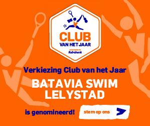 Nominatie Batavia Swim voor Club van het Jaar!