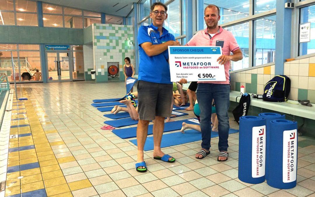 Metafoor sponsort de jeugd van Batavia Swim!