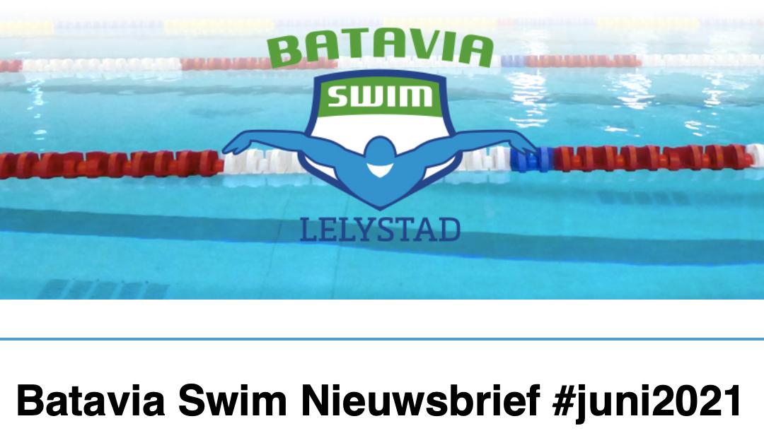 Batavia Swim Nieuwsbrief juni 2021